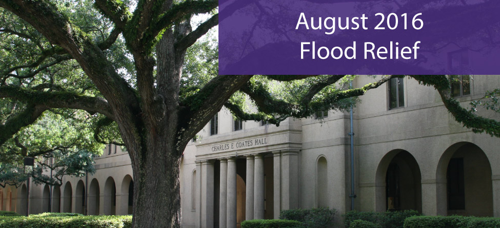 Flood Relief Resources for LSU Community