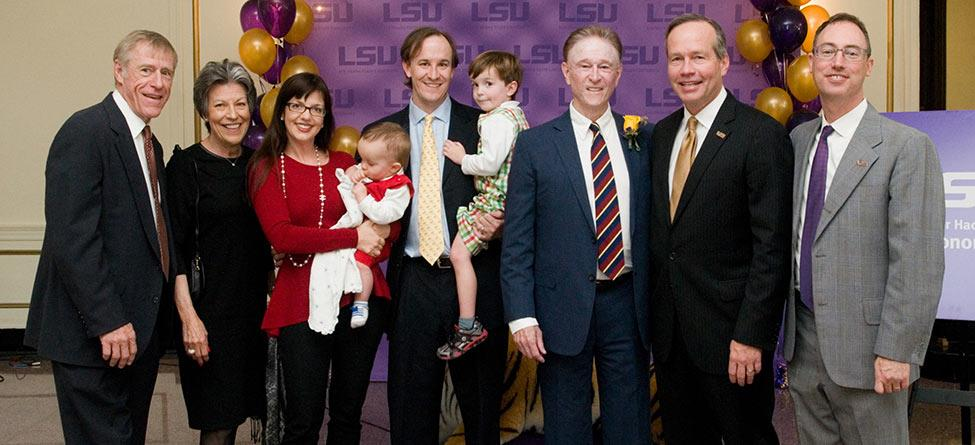 Roger H. Ogden Family Announces Largest Unrestricted Endowed Gift in LSU's History