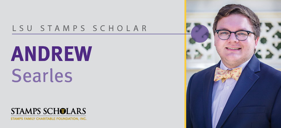 Stamps Scholar: Andrew Searles